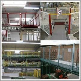 Tragkonstruktionen und Einrichtungen zum Personenschutz